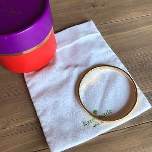 "Kate Spade ""heart of gold"" bangle"